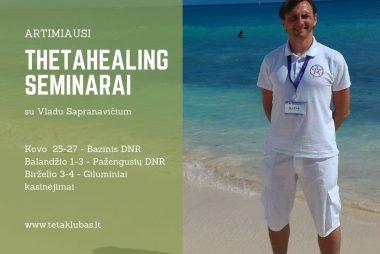 Vlado Sapranavičiaus ThetaHealing seminarai
